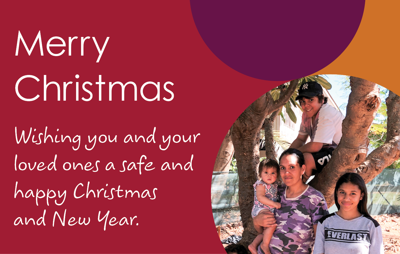 Merry Christmas from Anglicare NT