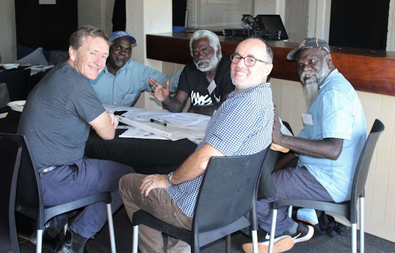 Men's group at We Grow Them Up