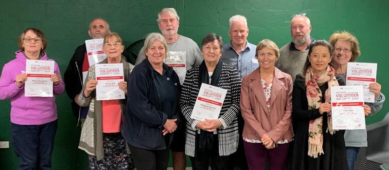 Anglicare NT volunteer celebration in Alice Springs