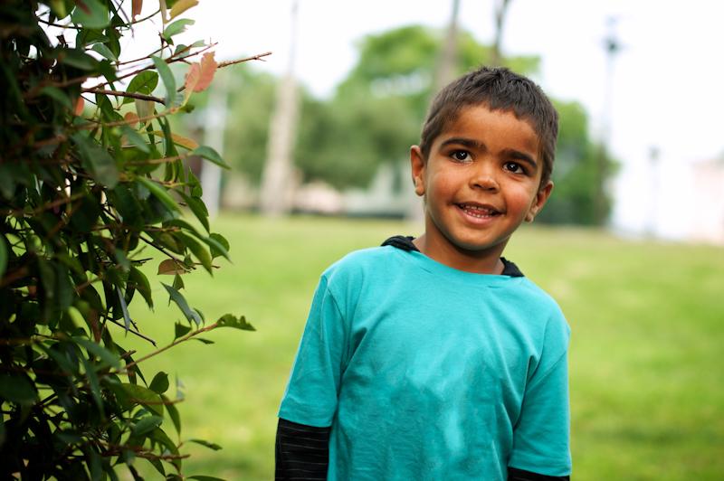 Young Aboriginal boy