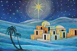Bethlehem Christmas Card