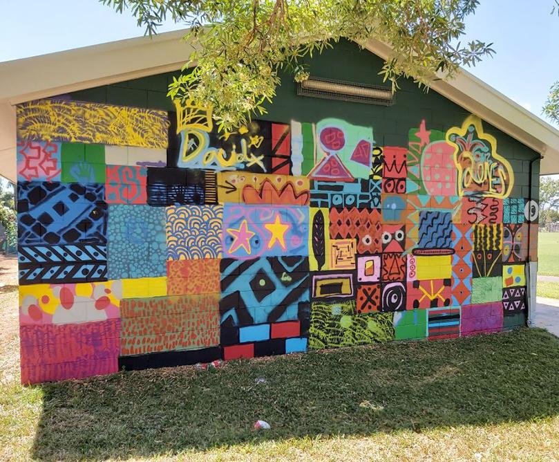 Malak mural artwork