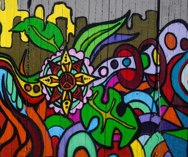 Ludmilla graffiti artwork