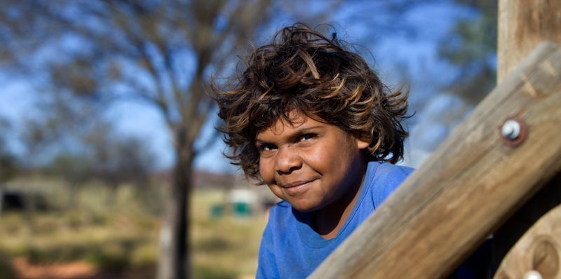 Young Indigenous boy