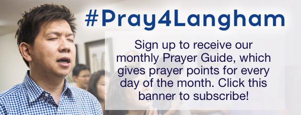 Prayer Guide advert